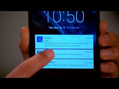 Android Lollipop lock-screen notification tips