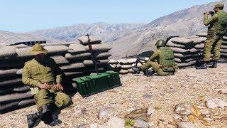 ARMA 3 - FT-2 возвращение . США vs Россия.+ CS GO