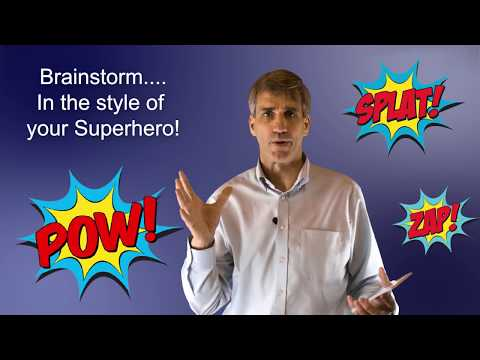 The Superheroes Technique - Creativity & Problem Solving