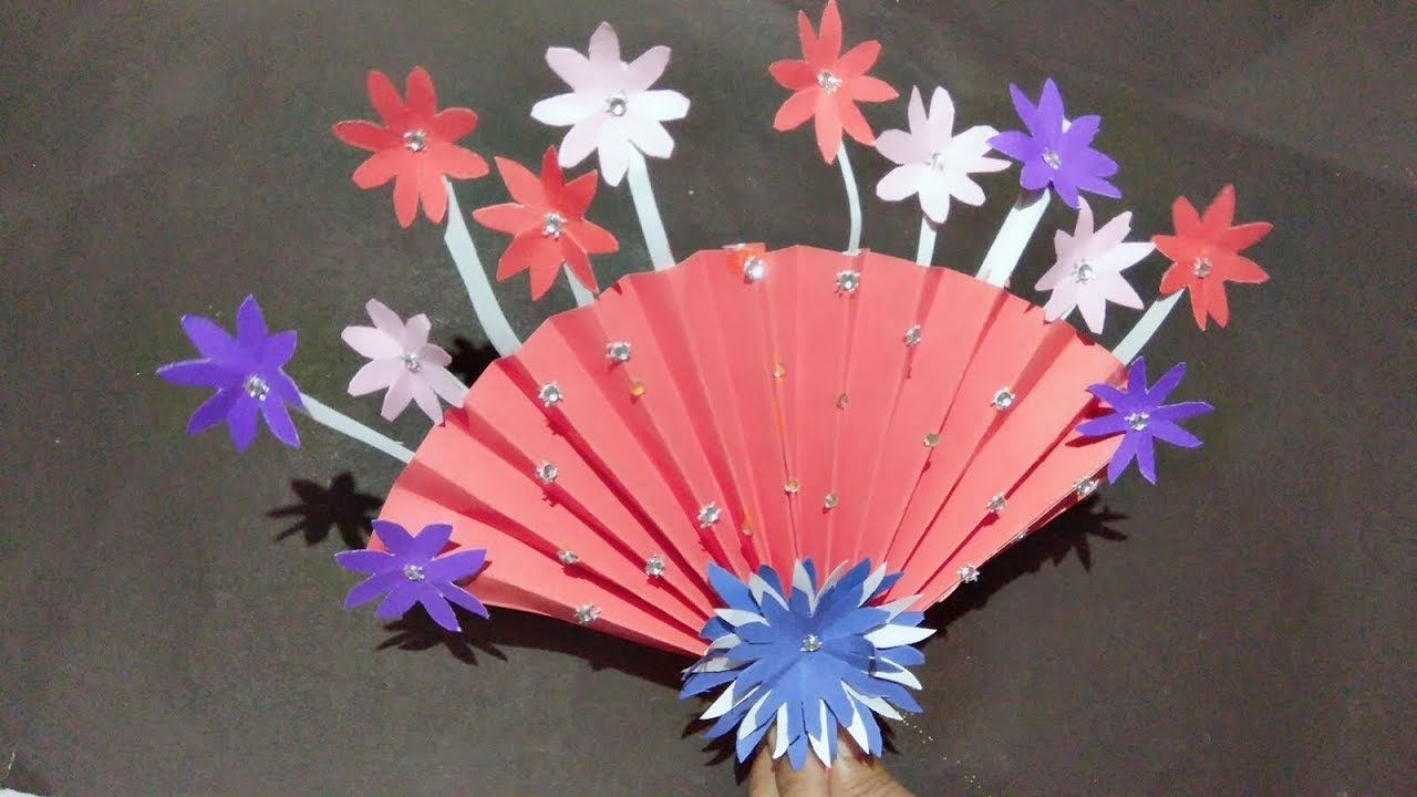Diy Flower Bouquet For Gift Creative Art Diy Art And Craft Ideas