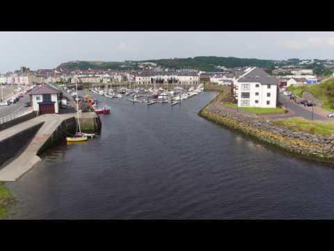 Aberystwyth Marina Entrance