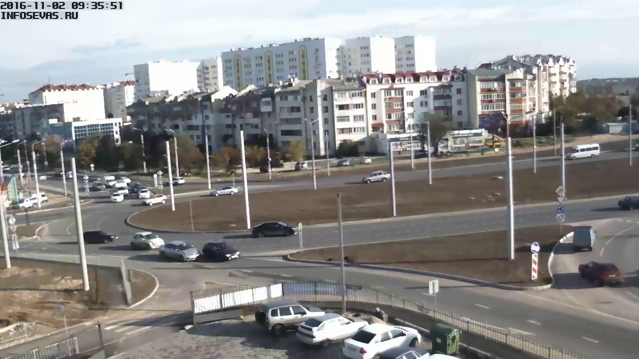 Севастополь, дтп, 5-км, 02-11-2016 09:35