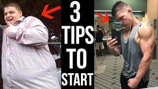 3 No BS Tips To START Losing Weight! (Worked For Me)