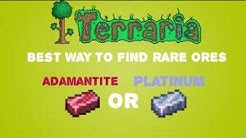 Terraria ios/android 1.2 - How to get all ores |Adamantite and Platinum