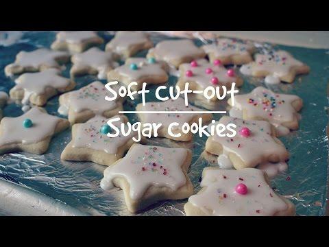 Soft Cut-Out Sugar Cookies  Lilybelle Morris