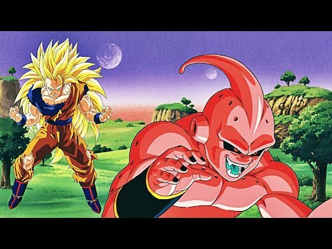 Son Goku biến thành Super Saiyan 3 đánh nhau với Mabu | Dragon Ball