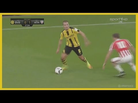 Mario Gotze vs Athletic Bilbao (Friendly) 09/08/2016 | German Commentary | HD