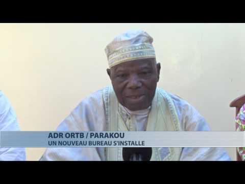 Installation du nouveau bureau de l'ADR ORTB Parakou