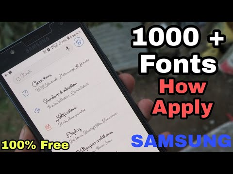 Samsung Unlimited Oreo Stylish Fonts Any Samsung Device [HINDI]