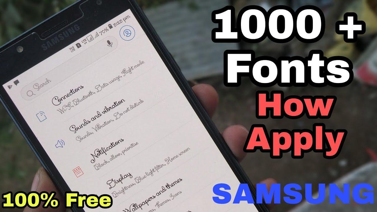 Samsung Unlimited Oreo Stylish Fonts Any Samsung Device [HINDI]