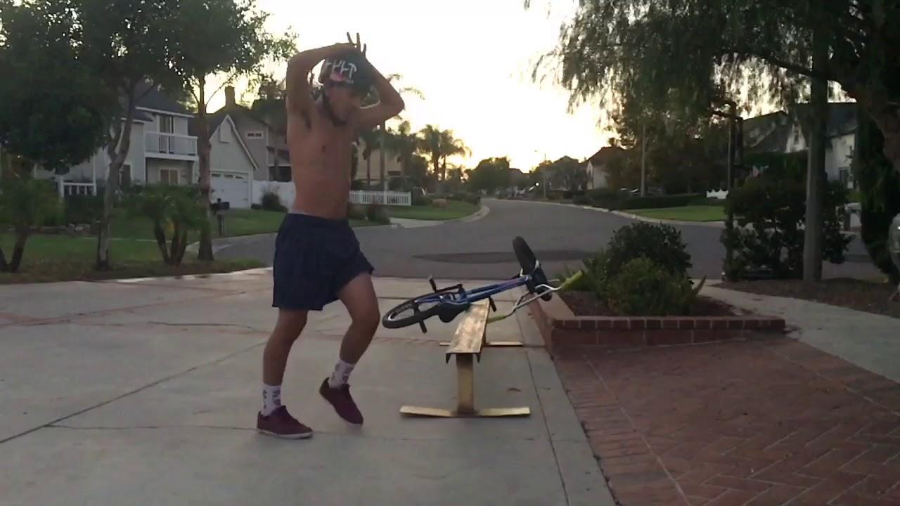 Bike Leap Fail   Humorous Groans