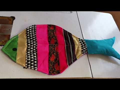 How To Make Door Mat Recycled Cloth Pieces || DIY Door Mat Stitching At Home