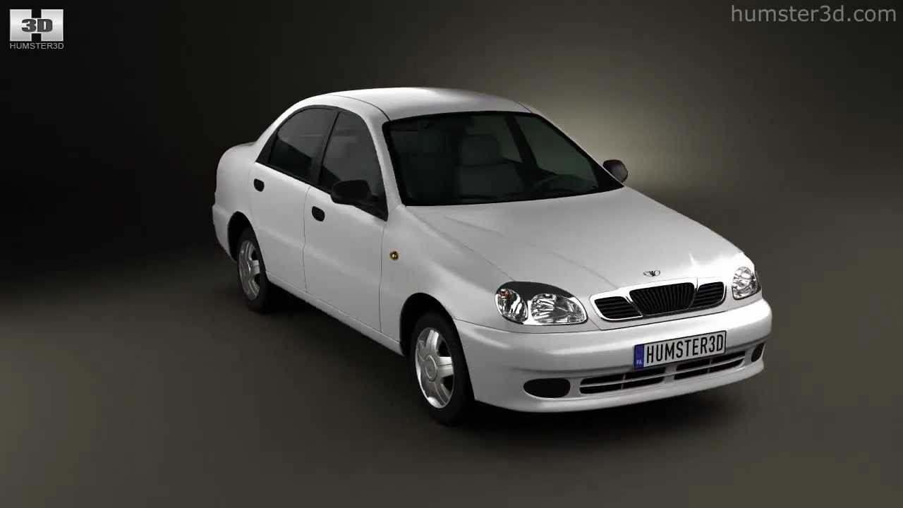 hight resolution of daewoo lanos 2012 by 3d model store humster3d com