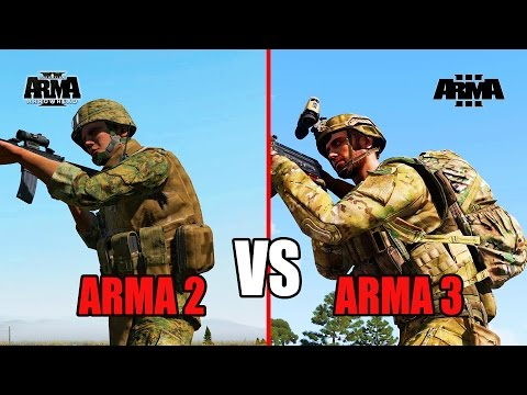 ARMA 2 VS ARMA 3 что лучше?