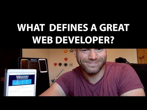 What Defines a Great Web Developer