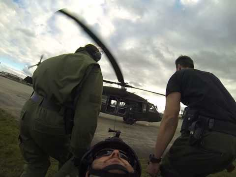 International Combat Lifesaver Medevac training