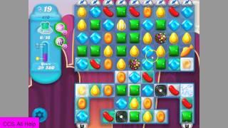 Candy Crush Soda Saga level 410 No Boosters