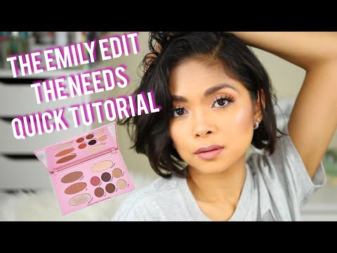 Simple Quick Tutorial using The Needs Palette from Makeup Revolution x Emily Noel thumbnail