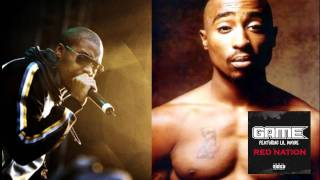 2pac Ft Nas - Red Nation (The Game Remix) 2011