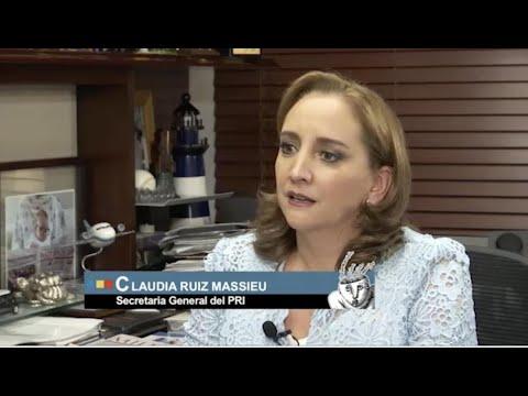 El Asalto a la razón. Entrevista a Claudia Ruiz Massieu Parte I