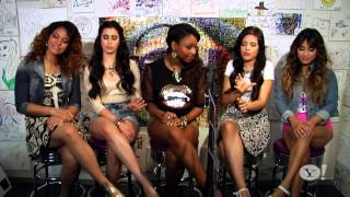 "(HD) Fifth Harmony - ""Me & My Girls"" Acoustic Live at Yahoo Music"