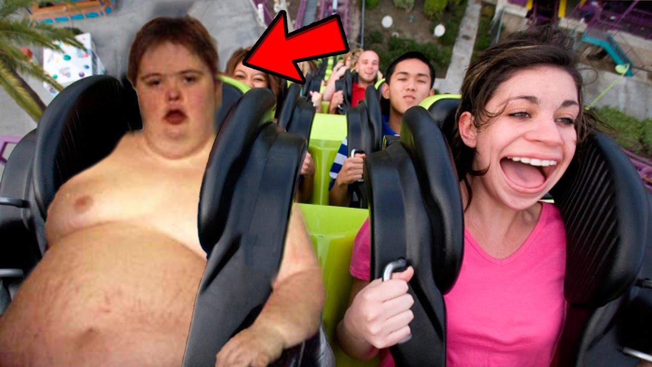 Top 5 Most Hilarious Roller Coaster Fails Best Funniest Roller