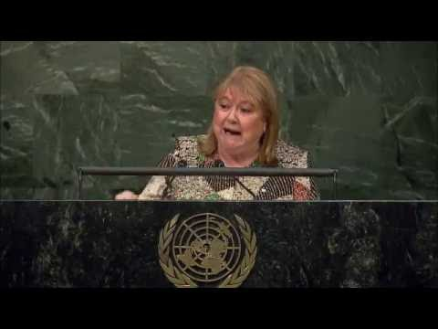 H.E. Susanna Malcorra - Leaders Summit 2016 - Day 1 at UN Headquarters