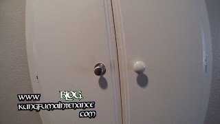 How To Change Out Door Or Drawer Pull Knob Handles Plus Make Them Stronger