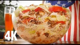 Big Tasty Bacon Salat - BBQ Grill Rezept Video - Die Grillshow 156