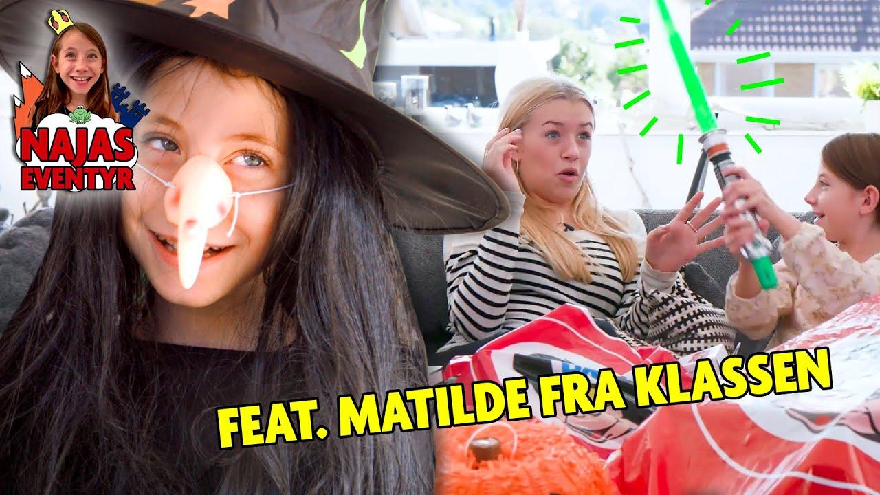 Naja leger heks med Matilde fra KLASSEN! I Najas Halloween Eventyr
