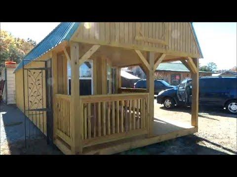 Tiny House Cabin 12x30 7 695 Watch Update Below Youtube