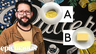 Butter Expert Guesses Cheap vs Expensive Butter | Price Points | Epicurious