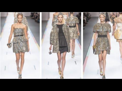 Sequin Trend at Milan Fashion Week Spring 2013