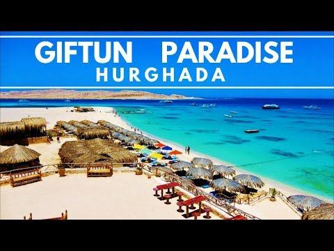 4k Our Day Trip To The Giftun Island Paradise Mahmya Beach Hurghada Egypt Agypten Youtube