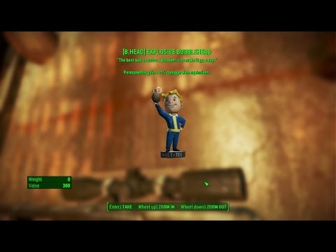 fallout 4 Saugus Ironworks [Magazine] Explosives Bobblehead& Picket Fences Issue #3