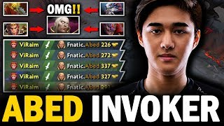 WTF GAME!! Top 5 Rank EUROPE Abed Invoker Got DESTROYED By CRAZY ENEMIES | Dota 2 Invoker
