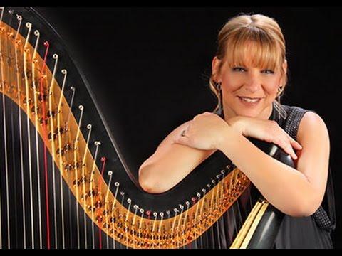 Beautiful Wedding Harp Music -  1st Arabesque