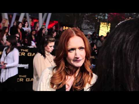 Paula Malcomson  The Hunger Games Premiere