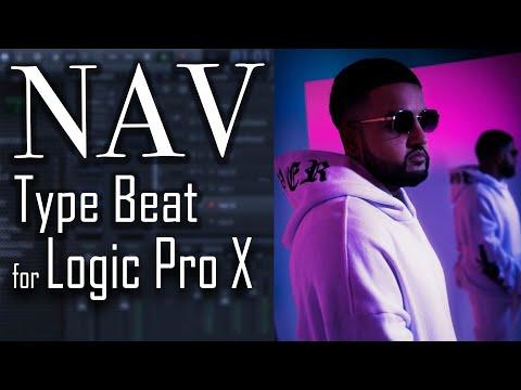 How To Make A NAV Type Beat In Logic Pro X | Trap Rap Beat Tutorial
