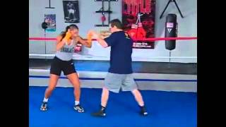 Boxing Lesson With Freddie Roach