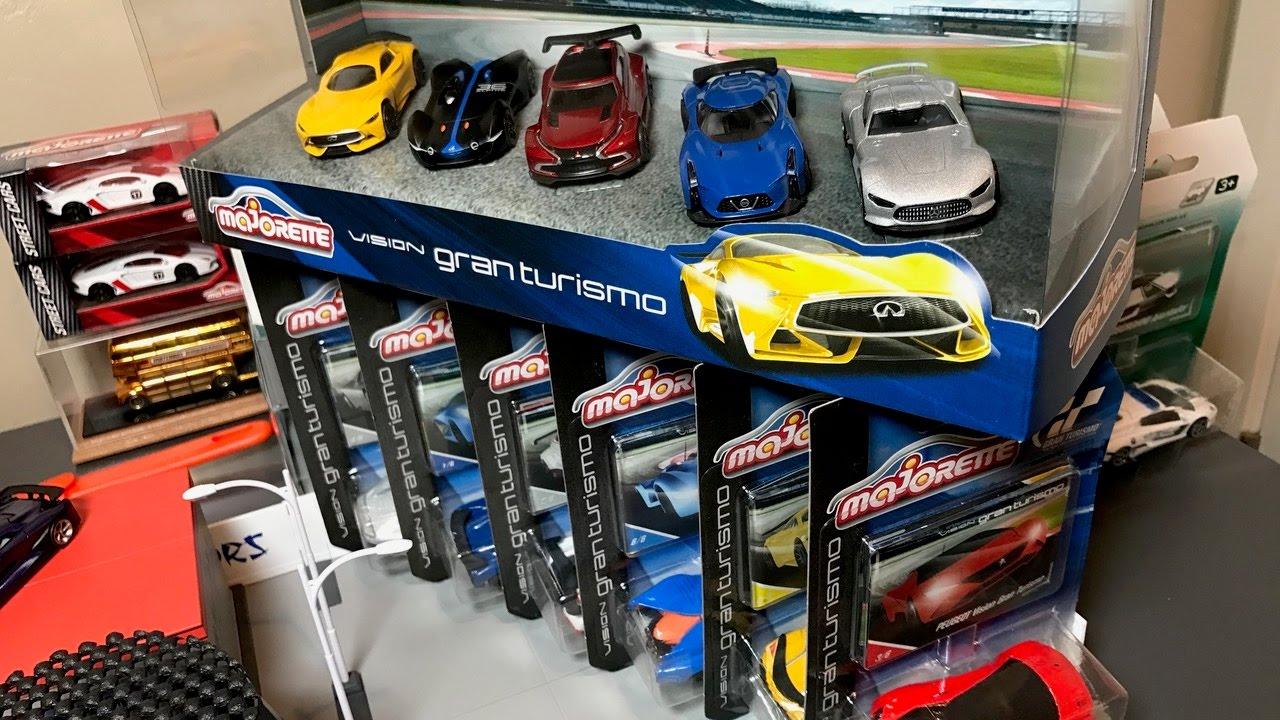 Lamley Showcase 2017 Majorette Vision Gran Turismo 5 Car Set