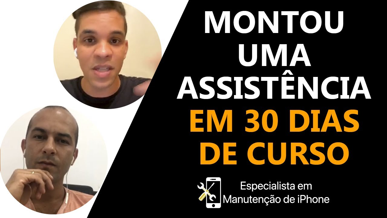 Live Eliezio Lopes - Montou uma assistência em 30 dias de curso