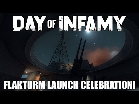 Flak Tower Launch and Dev Chat! - Day of Infamy Weekly Live Stream 12/14/17