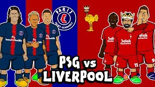 🔵PSG vs LIVERPOOL🔴 (Champions League Preview 2018 Dean vs Sam!)
