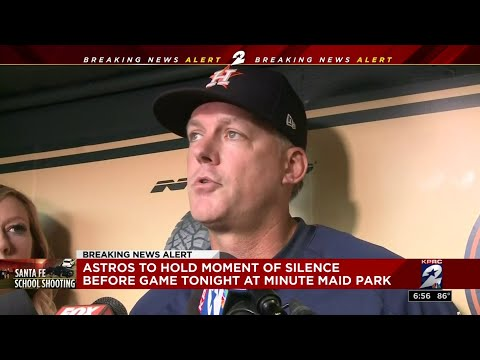 Astros to hold moment of silence before game at Minute Maid Park following Santa Fe shooting