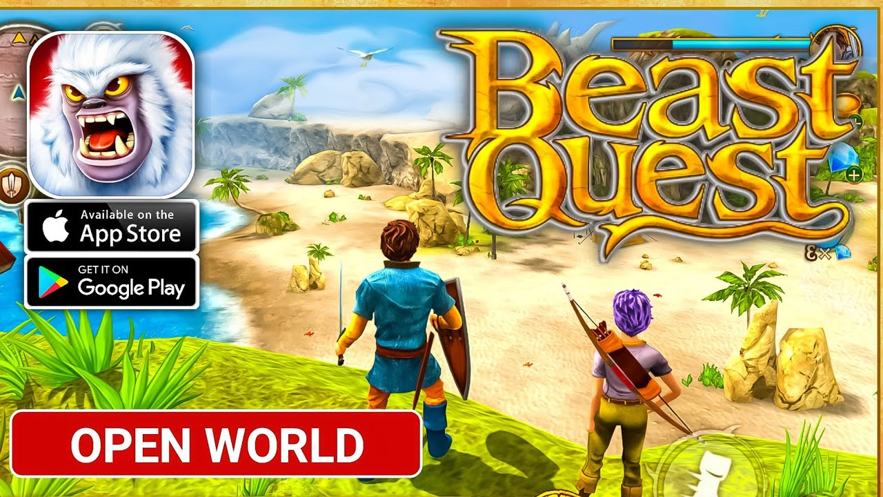 beast quest  gameplay android ios   rpg   youtube
