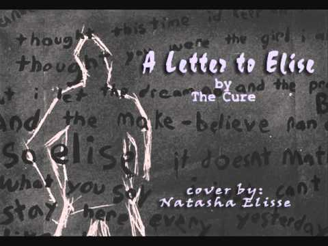 A Letter to Elise by The Cure Acoustic Cover Natasha Elisse