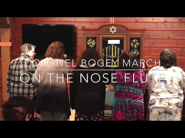 Colonel Bogey March on the Nose Flute 2019