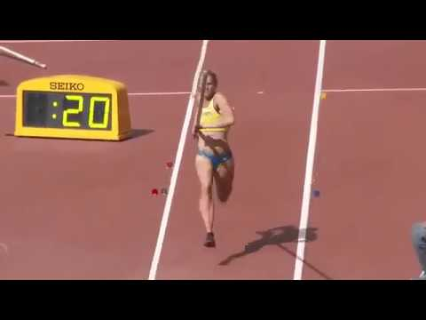 Oops Moment For Swedish Pole Vaultor