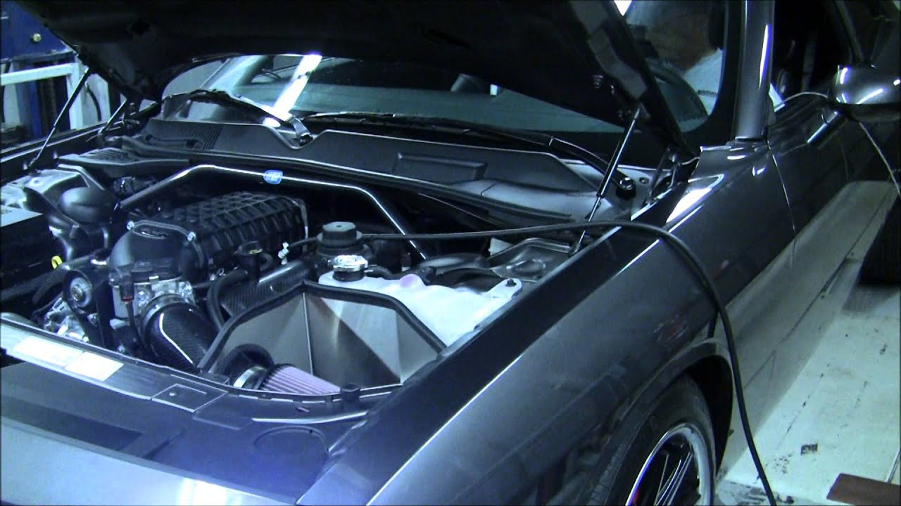 Petty s garage 2013 challenger r t sporting the arrington performance hi power supercharger tune youtube